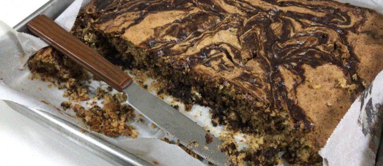 עוגת שיש בחושה
