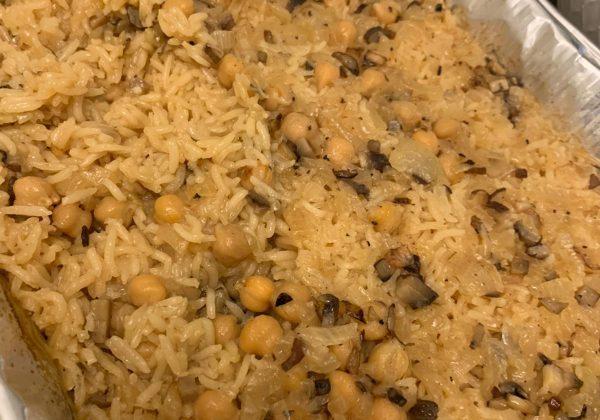 אורז בתנור