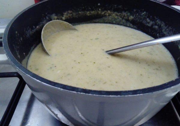 מרק מוקרם פרווה