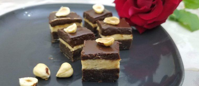 בראוניז בוטנים ושוקולד