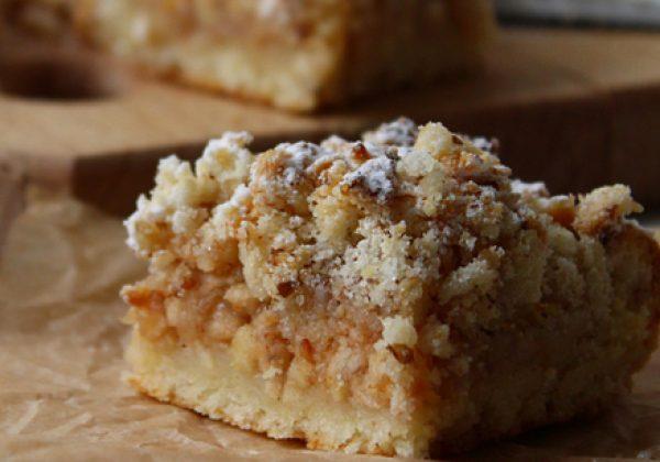 עוגת שכבות תפוחים